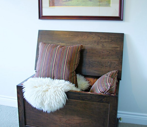 Cedar-lined Blanket Box