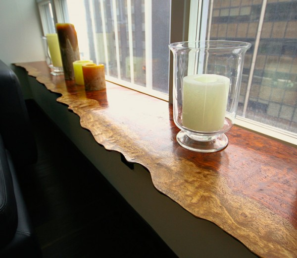Bubinga Window Sill