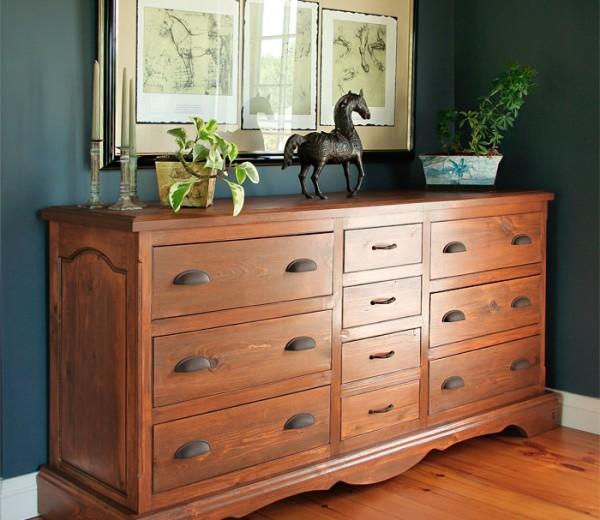 Barnboard Dresser