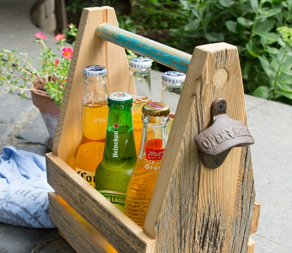 Barnboard Beer Carrier