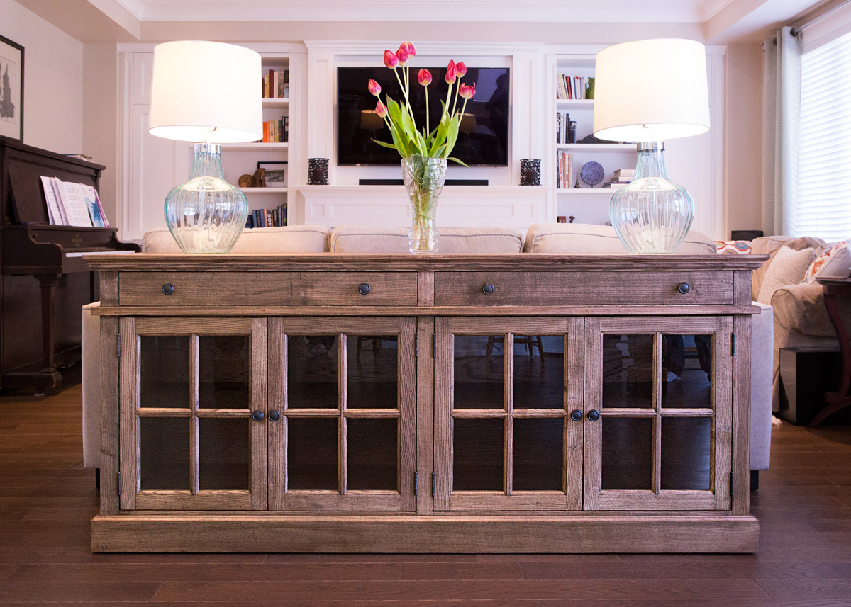 Picture of: The Long Buffet The Dovetail Shop